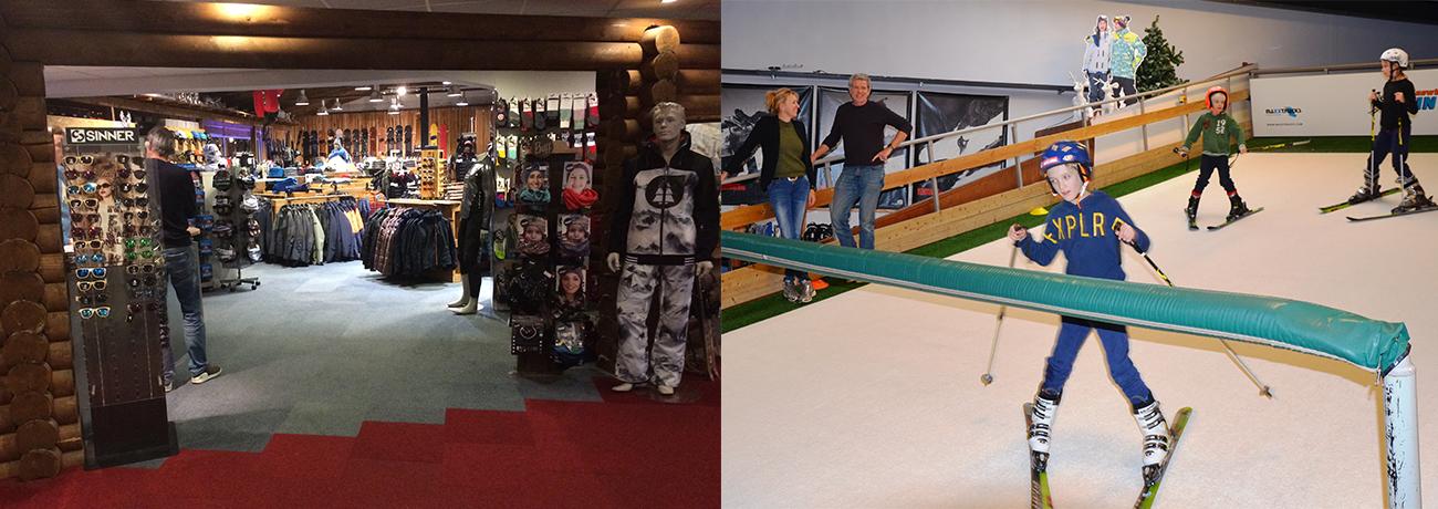 KLein Oostenrijk winkel en skischool