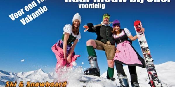 Nu speciale huur om nieuwe modellen ski's en snowboards te testen